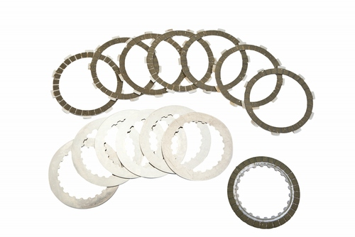 Clutch Disc Set (Friction & Steel) - Gas Gas - Surflex - 14 Pieces