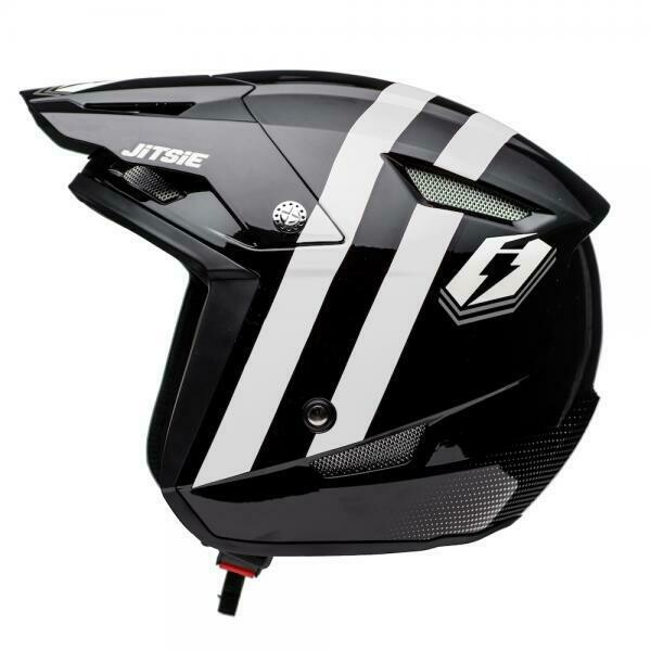 Helmet HT1 Voita Black White