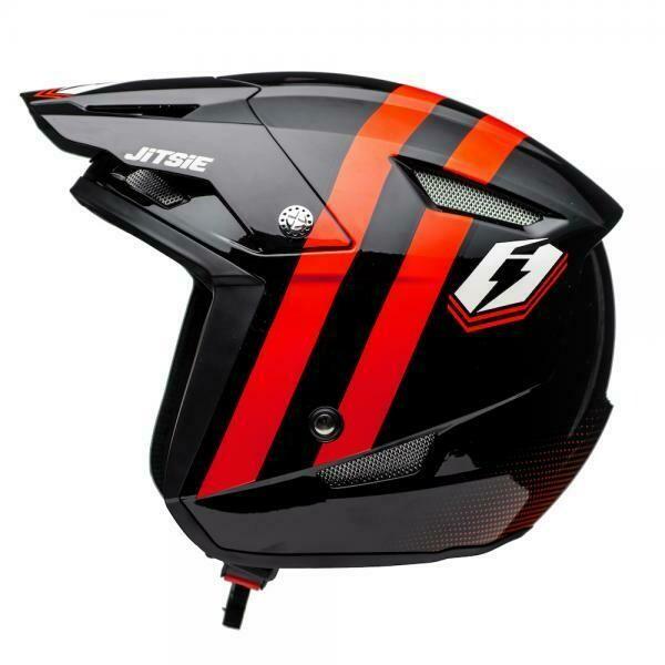 Helmet, HT1, Voita, Black/Red