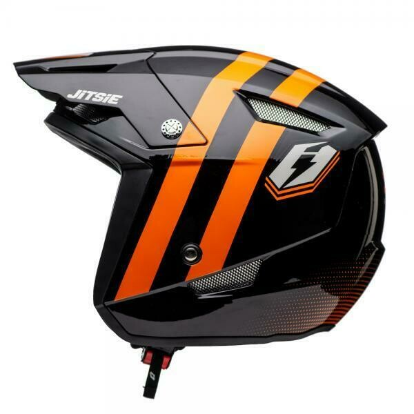 Helmet HT1 Voita Black Orange 2020