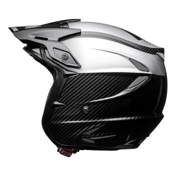 Helmet, HT2, Solid, Carbon, Black/Silver