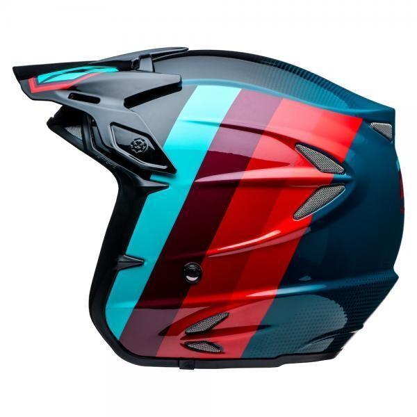 Helmet, HT2, Voita, Black/Red/Blue
