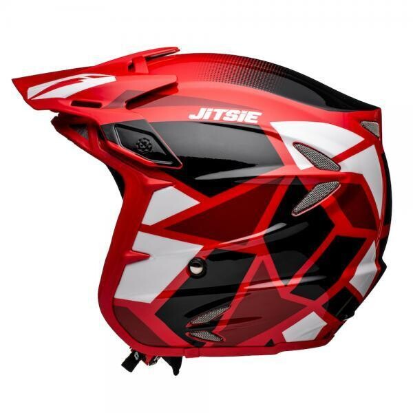 Helmet, HT2, Kozmoz, Red/Black, Jitsie