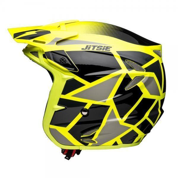 Helmet, HT2, Kozmoz, Fluorescent Yellow/Black