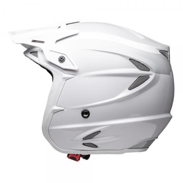Helmet, HT2, Solid, White/Grey