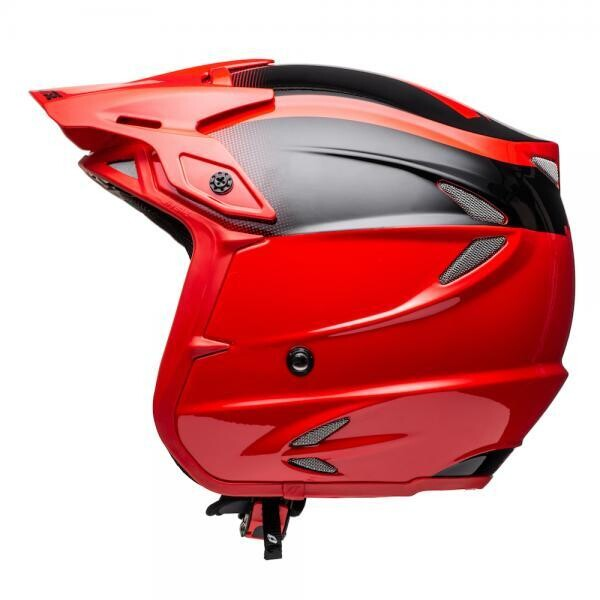Helmet, HT2, Solid, Red/Black