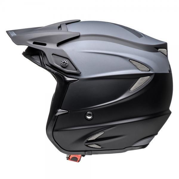 Helmet, HT2, Solid, Black/Grey