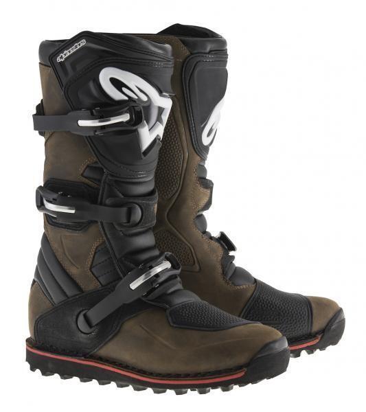 Boots, Trials, Tech T, Brown
