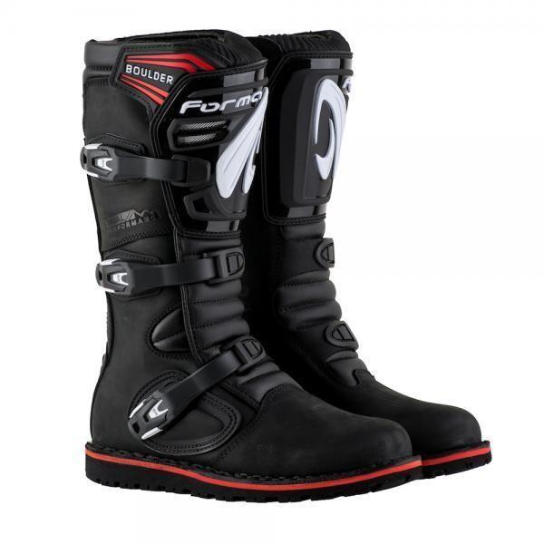 Boots, Trials, Boulder, Black