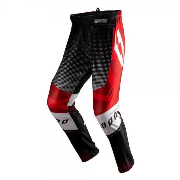 Pants, Kozmoz L3, Red/Black, Jitsie