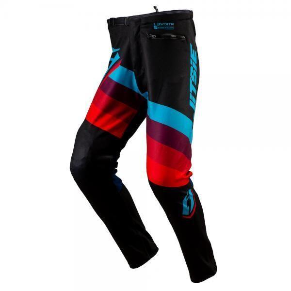 Pants, Voita L3, Black/Blue, Jitsie