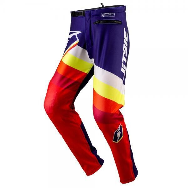 Pants, L3, Voita, Jitsie (Red/Navy)