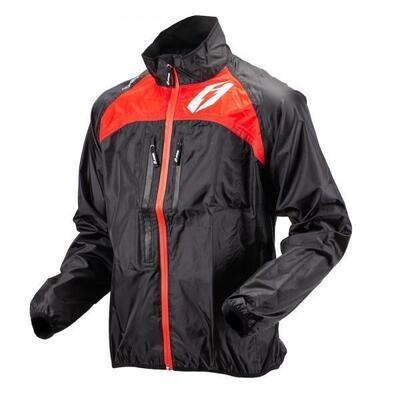 Jacket, Rain, Hopper, Red, Jitsie