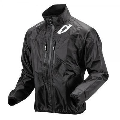 Jacket, Rain, Hopper, Black, Jitsie