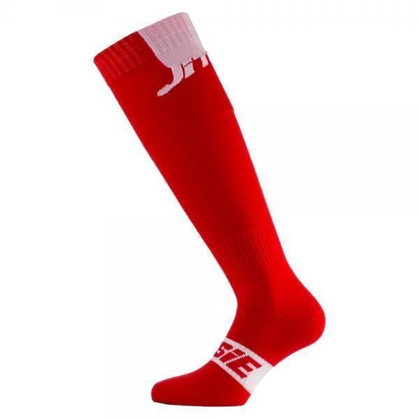 Socks, Long, Red/White, Jitsie