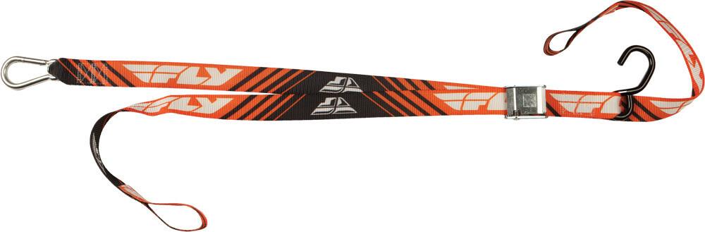 Tie Down, Soft Tie, Orange