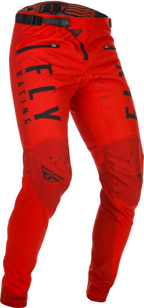 Pants, Kinetic, Red
