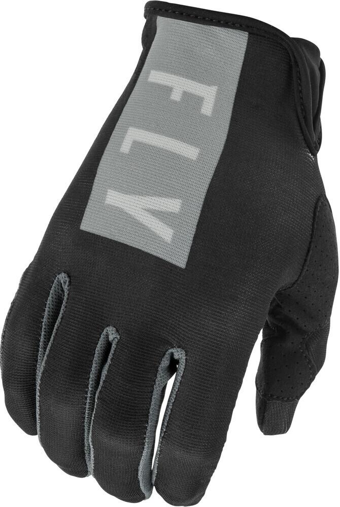 Gloves, Lite, Black/Grey, Women's