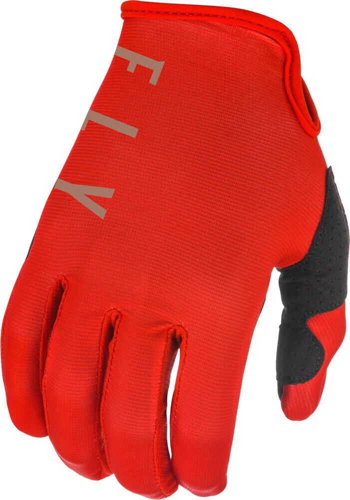 Gloves, Lite, Red/Khaki, Kids