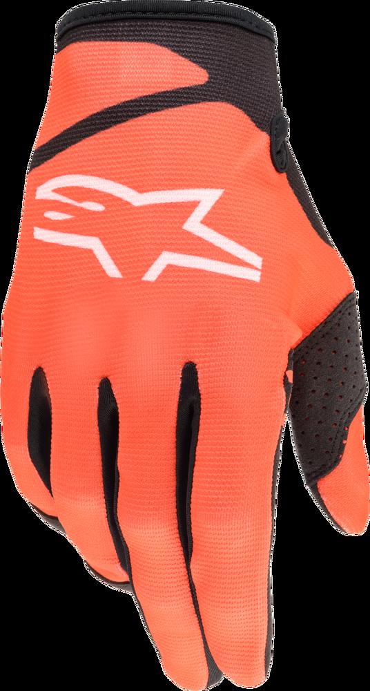 Gloves, Radar, Alpinestars (Orange/Black)
