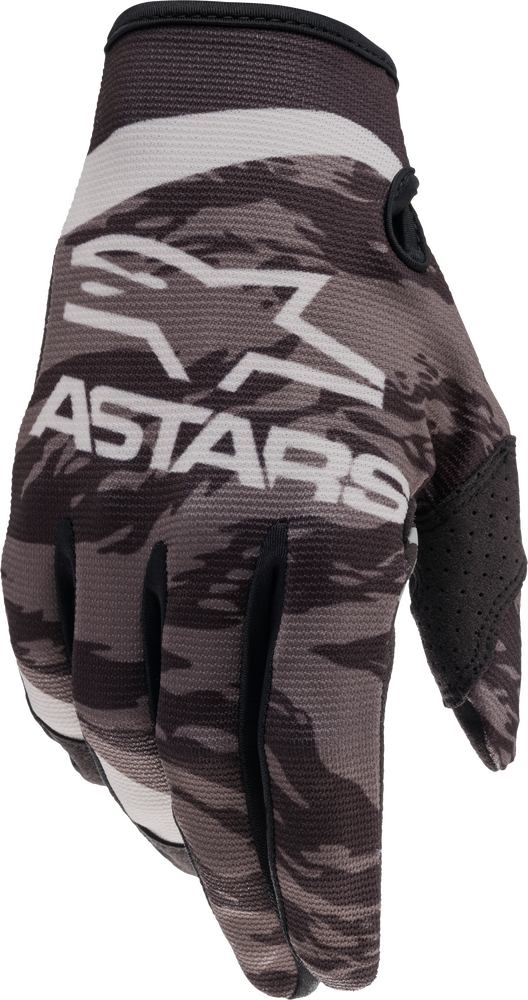 Gloves, Radar, Alpinestars (Black/Grey Camo)