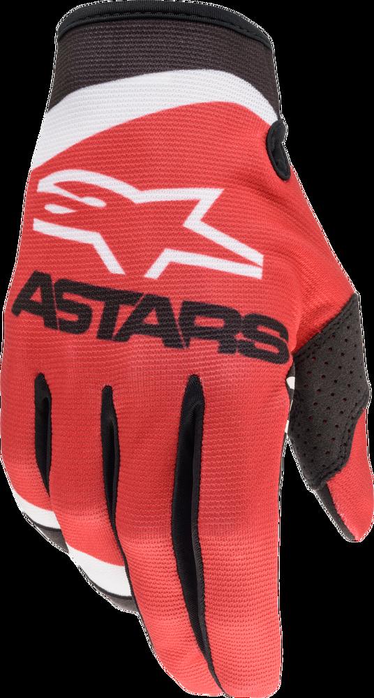 Gloves, Radar, Red/Matt Blue/Neon