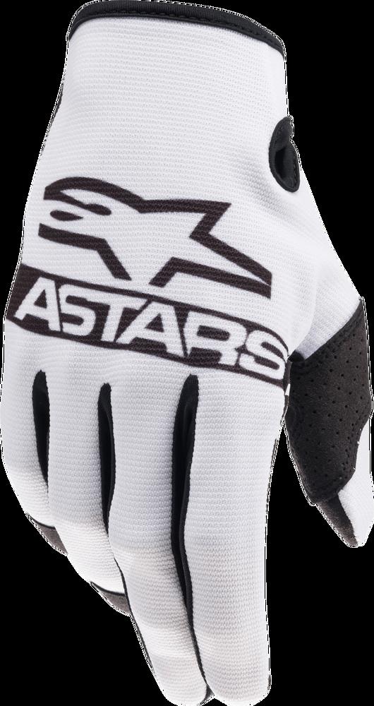 Gloves, Radar, White/Black