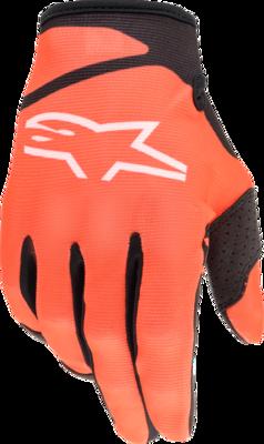 Gloves, Radar, Orange/Black, Kids