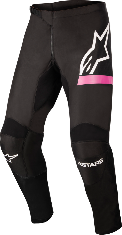 Pants, Fluid, Chaser, Stella, Black/Pink Fluo