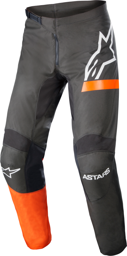Pants, Fluid, Chaser, Anthracite/Coral Fluo