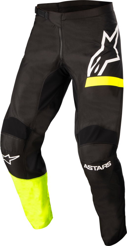 Pants, Fluid, Chaser, Black/Yellow Fluo