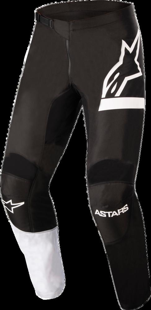 Pants, Fluid, Chaser, Black/White