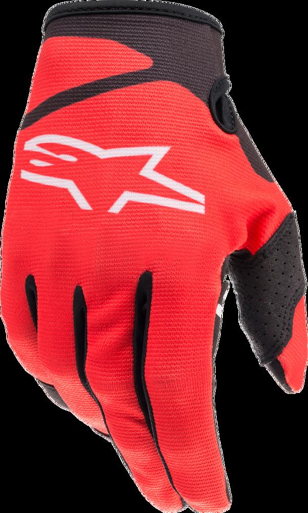 Gloves, Radar, Kids, Alpinestars (Red/Black)