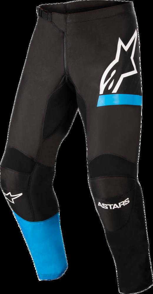 Pants, Fluid, Chaser, Black/Blue Neon