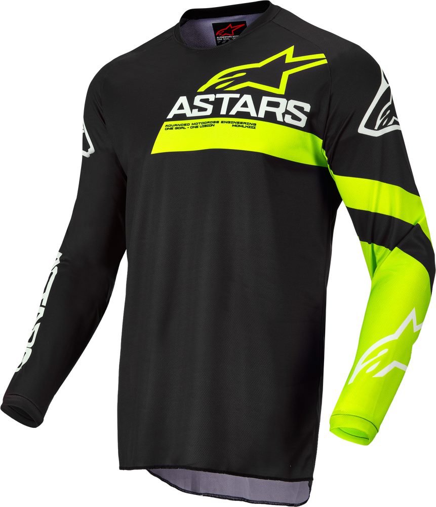 Jersey, Fluid, Chaser, Black/Yellow Fluo
