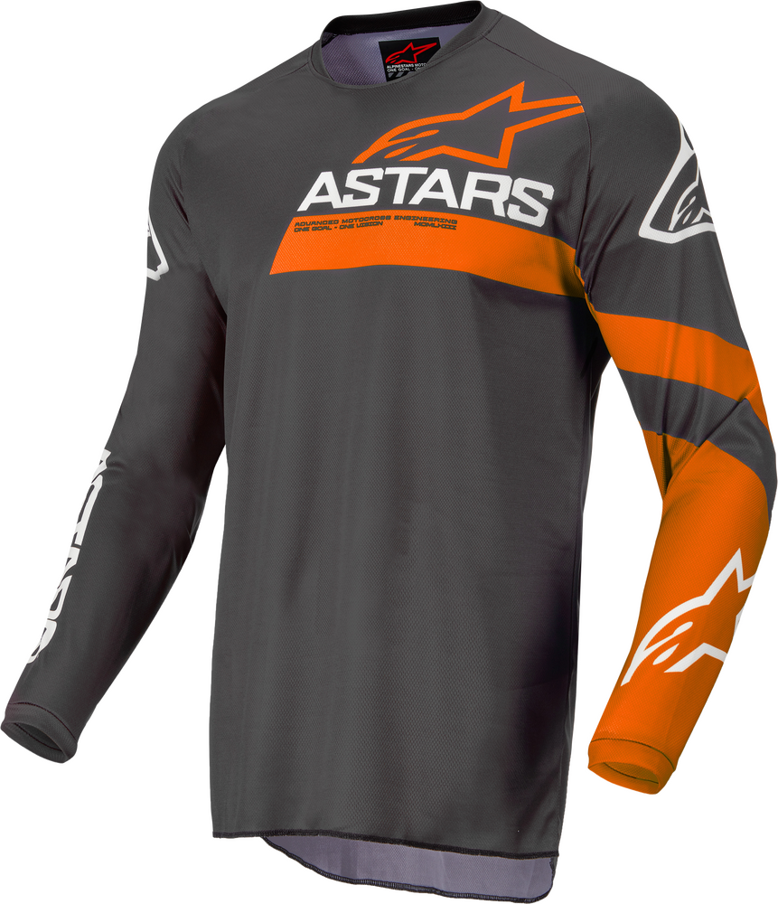 Jersey, Fluid, Chaser, Anthracite/Coral Fluo