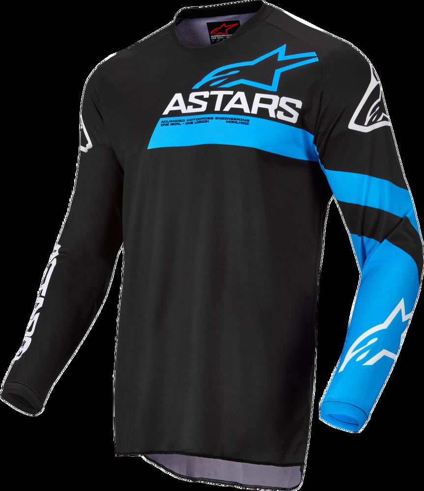 Jersey, Fluid, Chaser, Alpinestars (Black/Blue)