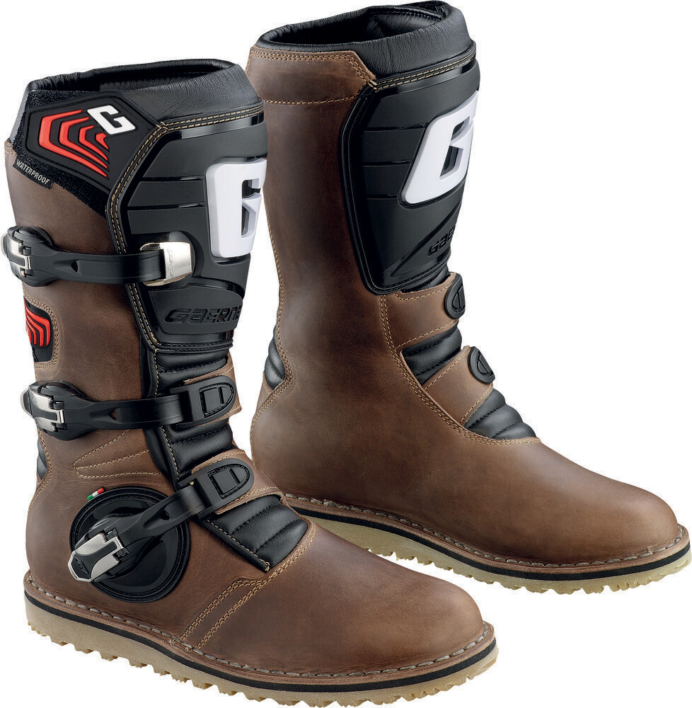 Boots, Trials, Balance, Oiled, Gaerne (Brown)