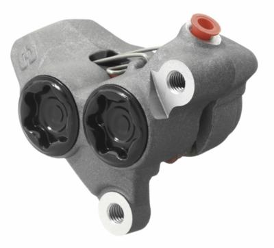 Caliper, Brake, Front, Titanium, ⌀25, Braktec (Gas Gas/Jotagas)