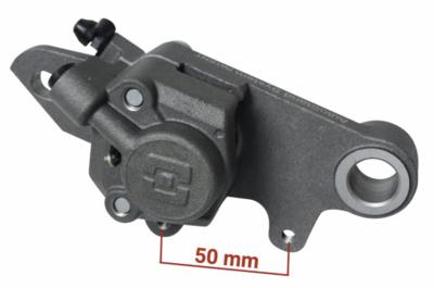Caliper, Brake, Rear, Titanium, ⌀25, Braktec (Gas Gas/Scorpa/Sherco)