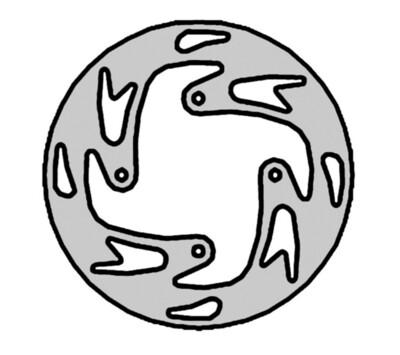 Disc, Front, NG (OSSA)