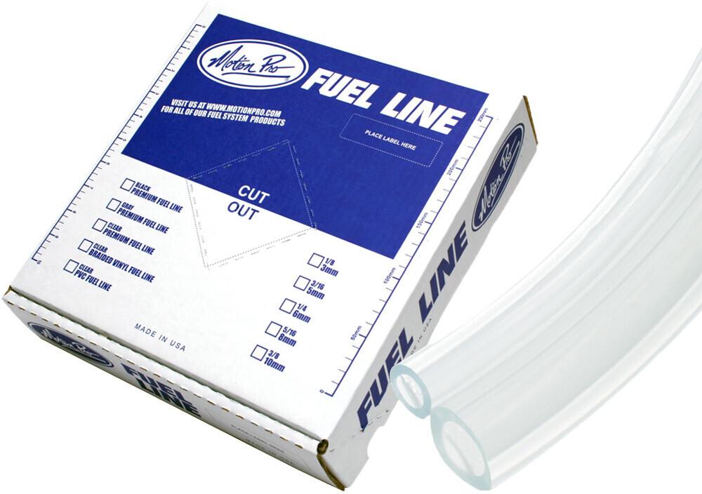 """Fuel Line, Plasticized PVC, 5/16"""", Clear"""
