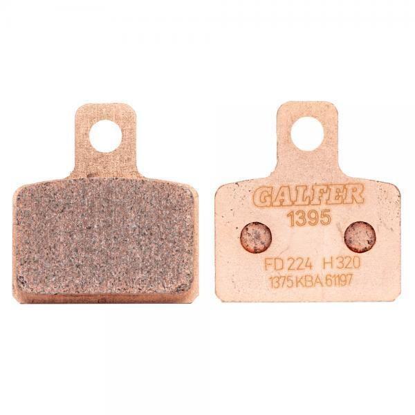 Brake Pads, FD224, Sintered, Galfer