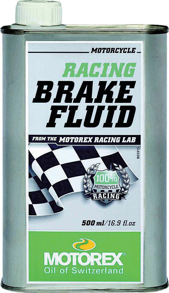 Brake Fluid, Racing, 16.9 FL OZ, Motorex