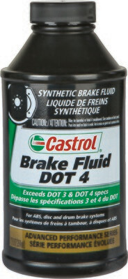 Brake Fluid, Synthetic, 12 FL OZ, Castrol