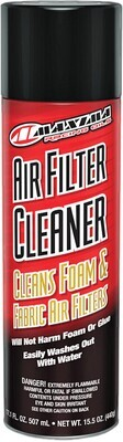 Cleaner, Filter, Spray (15.5oz), Maxima