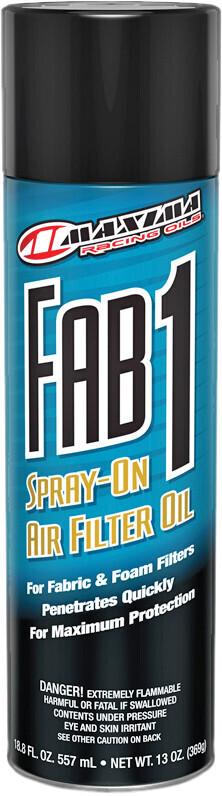 Oil, Air Filter, Spray (13oz), Maxima