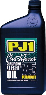 Gear Oil, Clutch Tuner, 75W, 1 Liter, PJ1