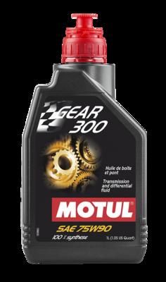 Gear Oil, Synthetic, 75W90, Motul