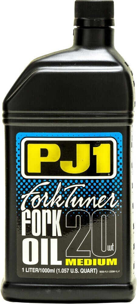 Fork Oil, Fork Tuner, 20W, 1 Liter, PJ1